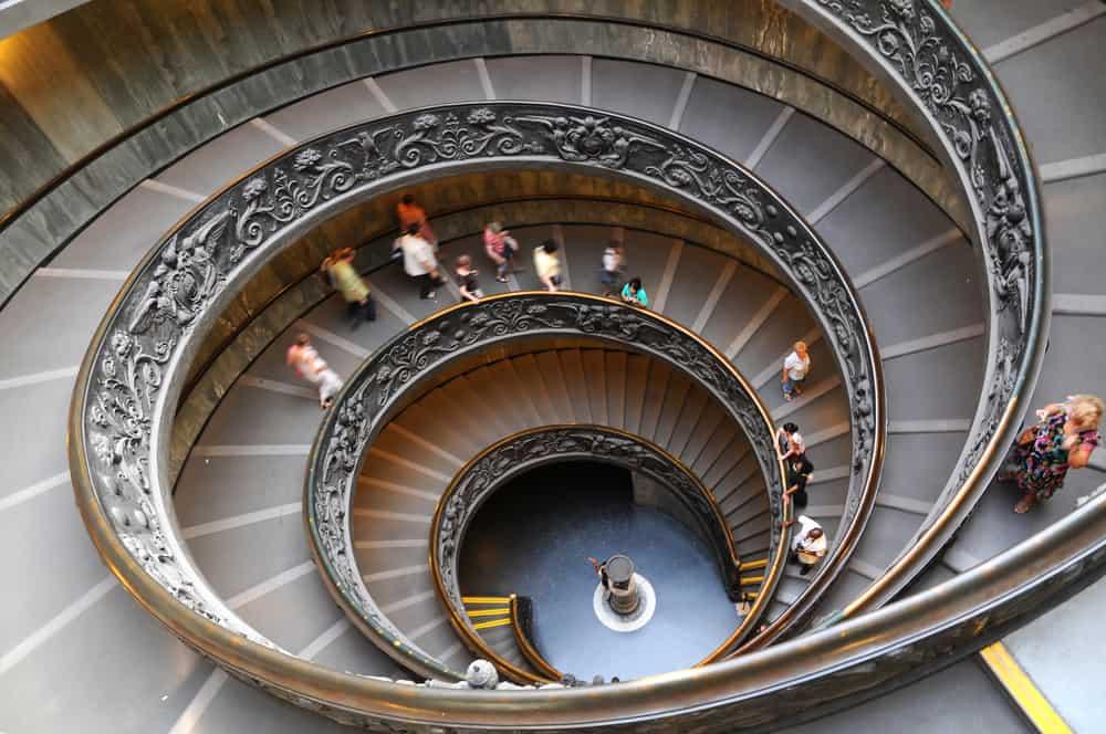 Vatikan Müzesi Spiral Merdivenler