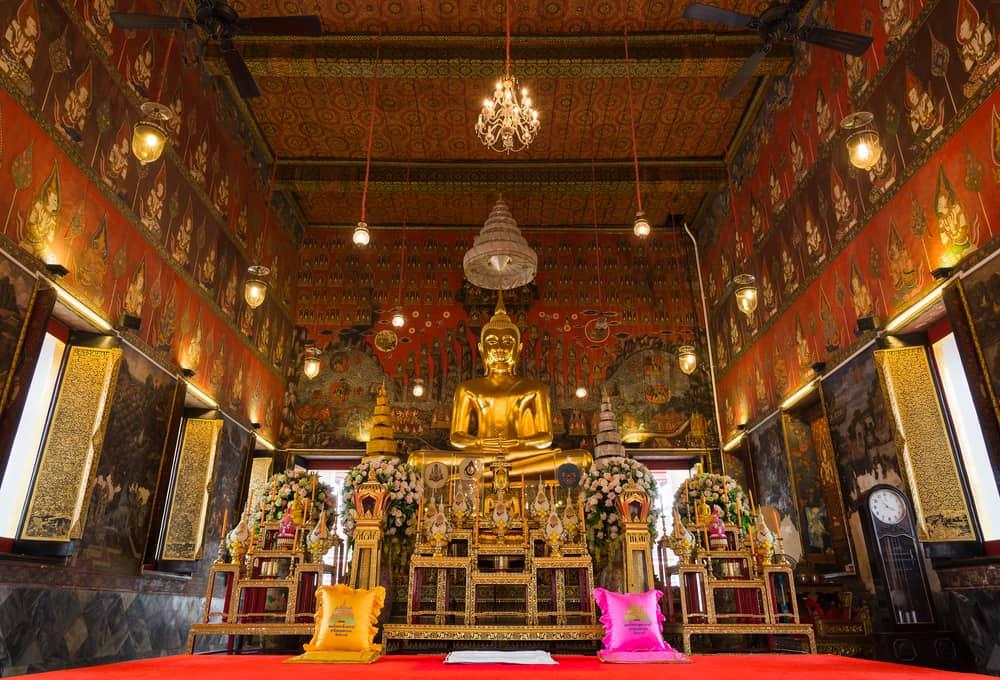 Wat Saket Tapınağı Bangkok
