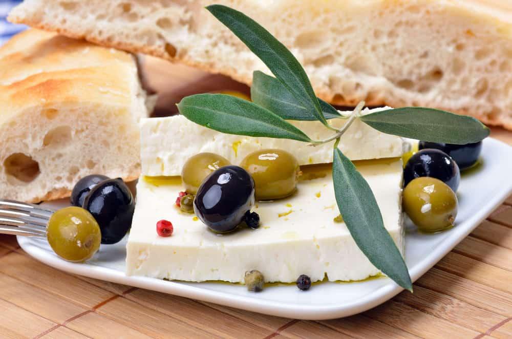 Yunanistan Peynir ve Zeytin