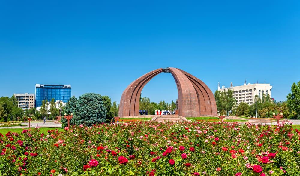 Zafer Meydanı Bişkek Kırgızistan