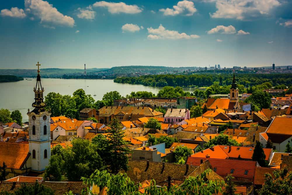 Zemun Bölgesi Belgrad Sırbistan