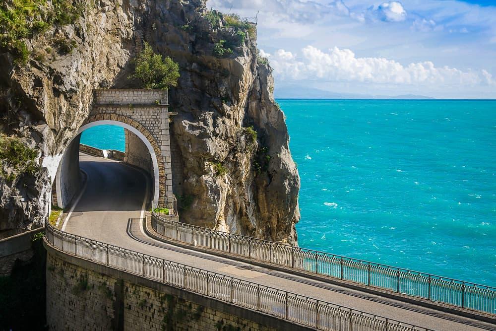 Amalfi Koyu Yolu, İtalya