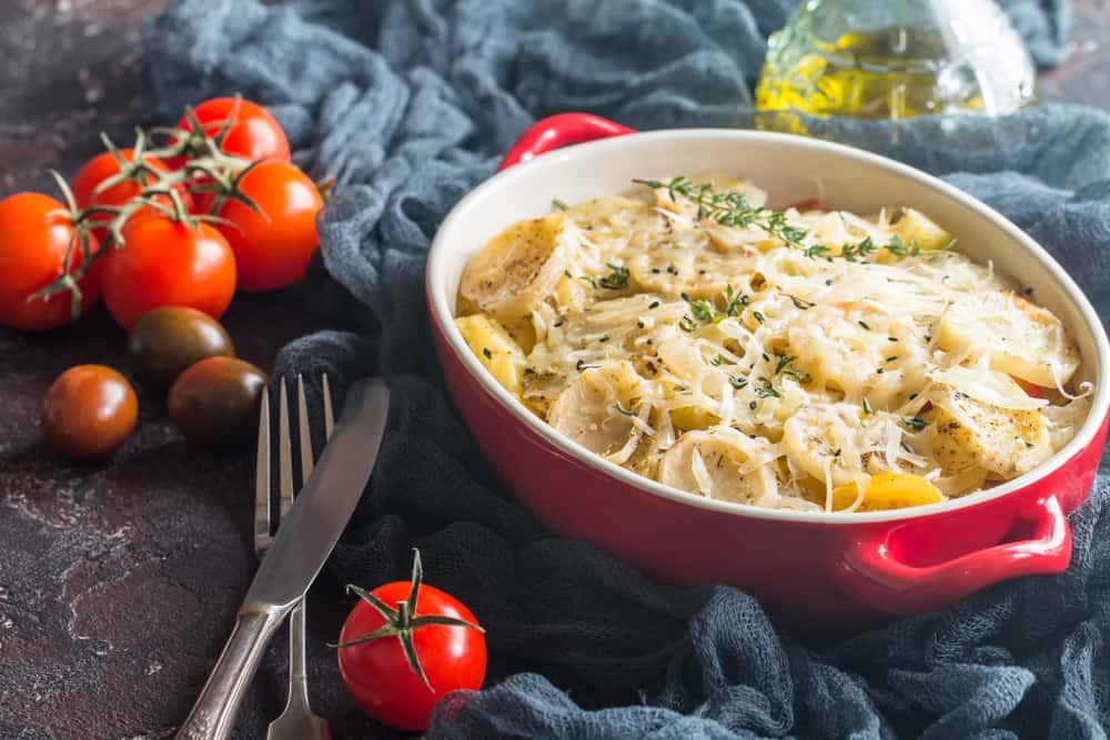 Au Gratine, Fransız Yemeği Patates Graten