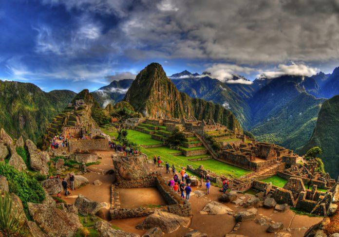 Güney Amerika Urubamba, Peru Machu Picchu