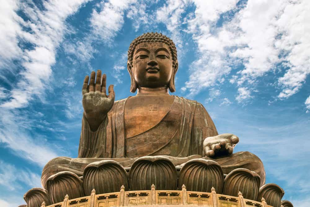 Hong Kong, Çin Tian Tan Buda