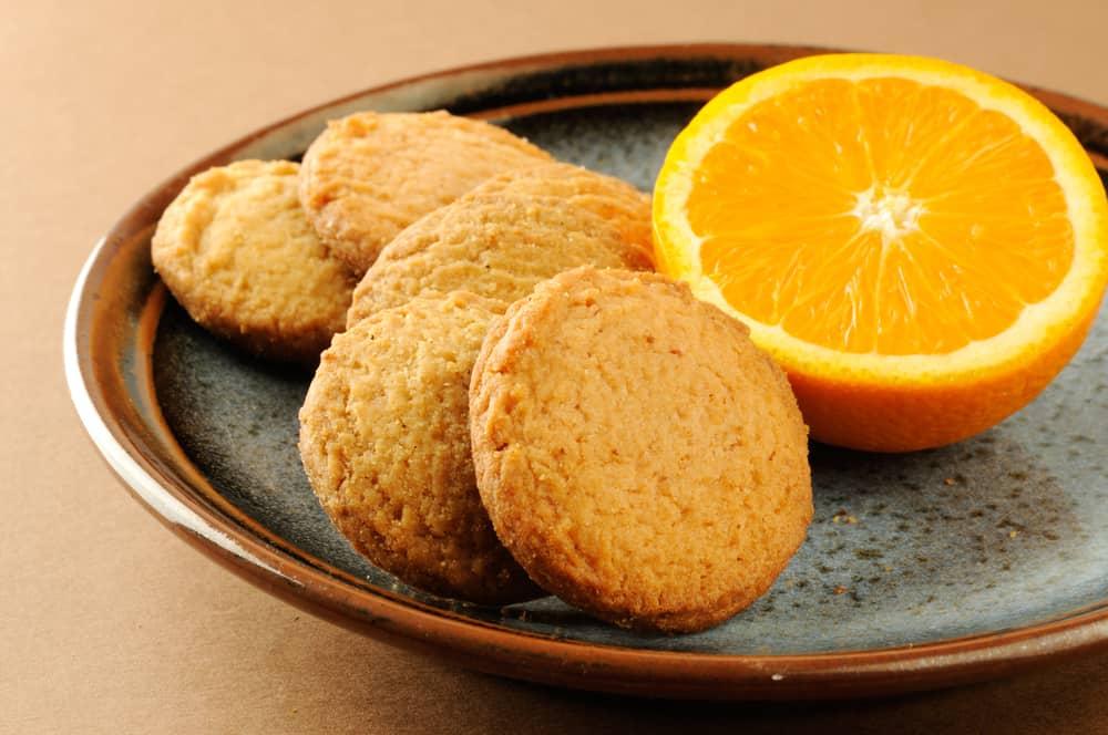 Portakallı Unsuz Kurabiye