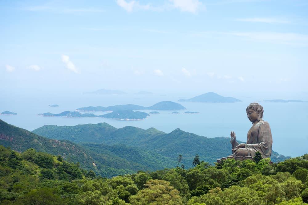 Tian Tan Buddha Heykeli – Hong Kong, Çin