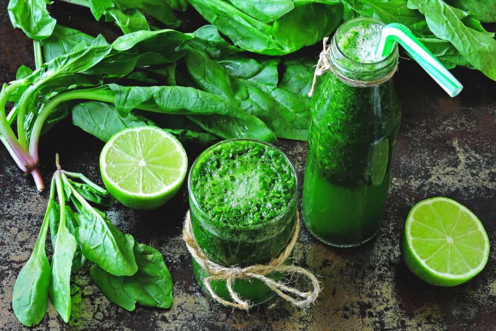 Yeşilin Gücü Bağışıklık Güçlendirici İçecek