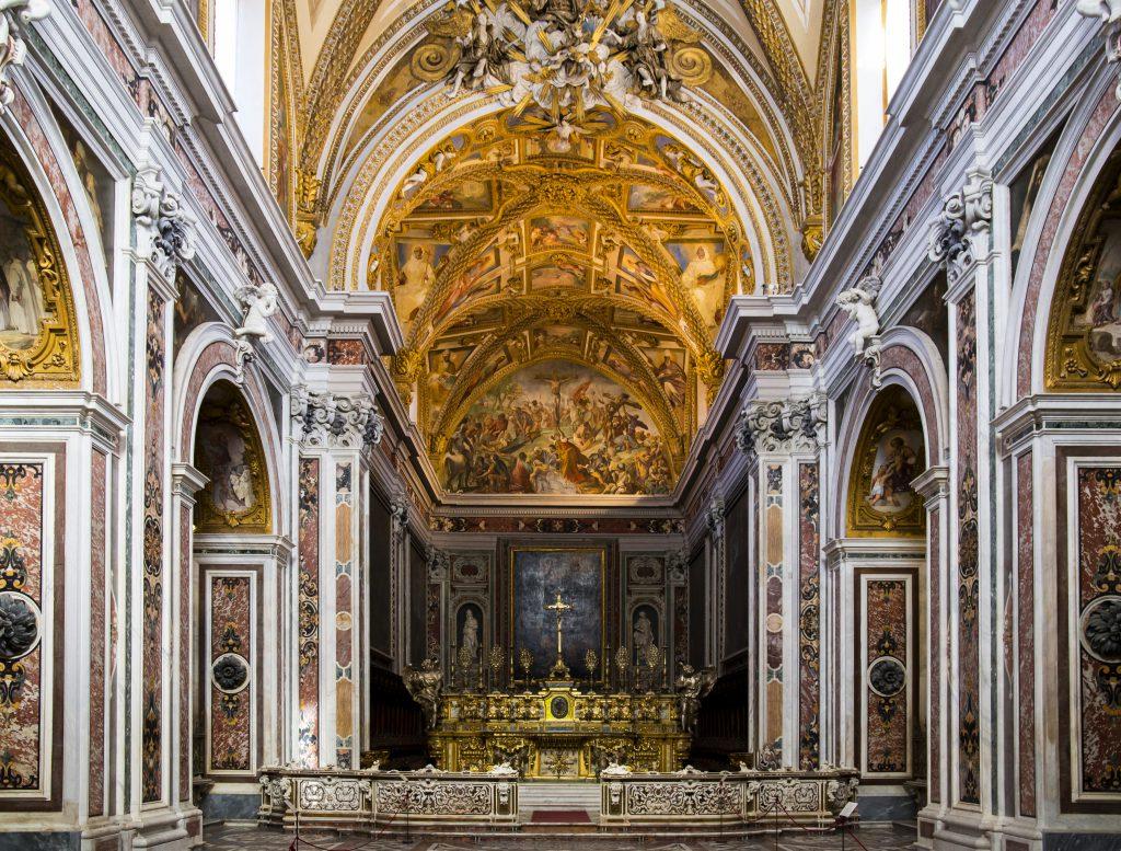 Aziz Martin Manastırı (Certos e Museo di San Martino) Napoli İtalya