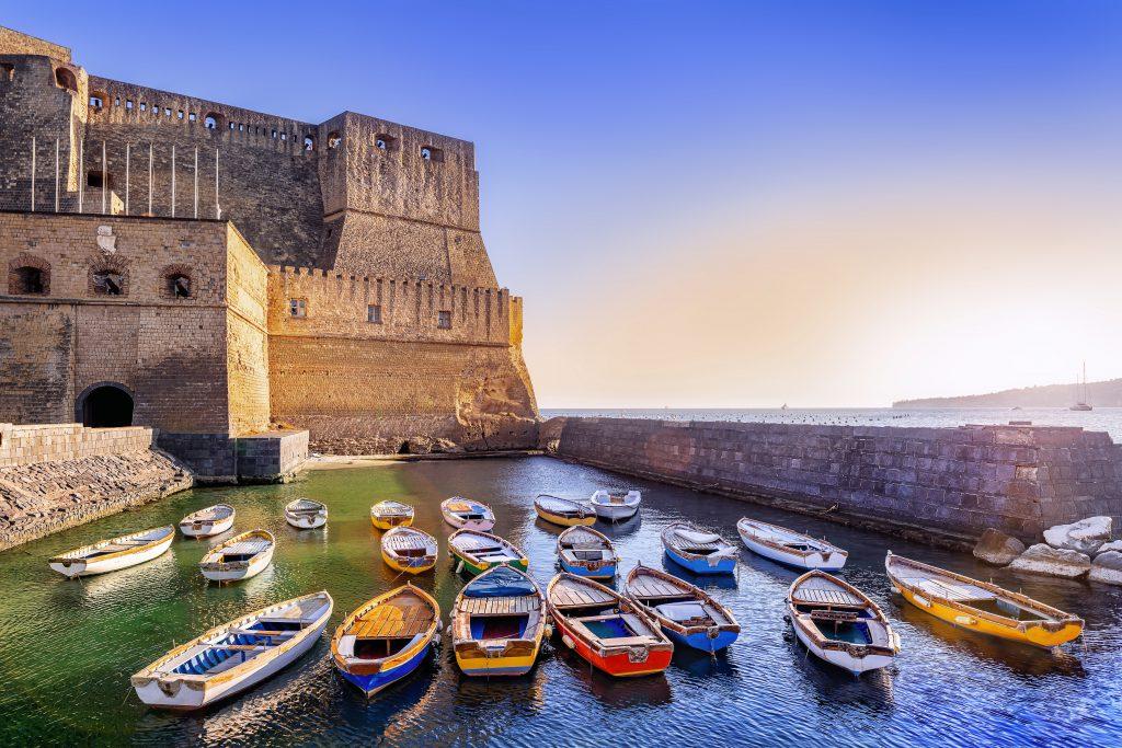 Castel dell'Ovo Napoli İtalya