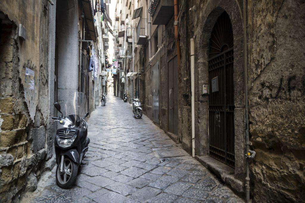 Eski Şehir Merkezi (Centro Storico) Napoli İtalya