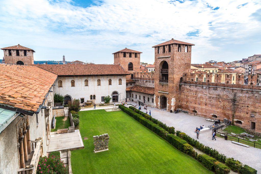 Eski Kale (Castelvecchio) Verona, İtalya