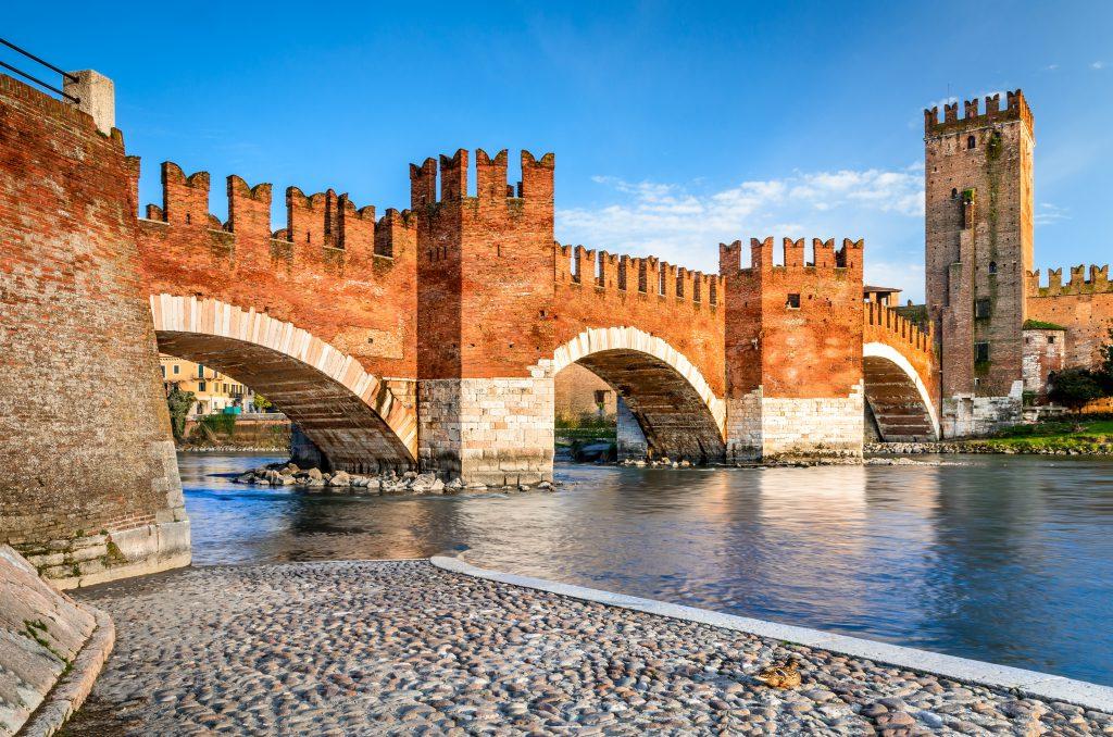 Eski Kale (Castelvecchio) Verona İtalya