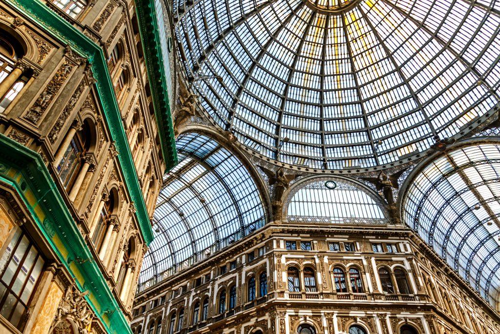 Galleria Umberto Napoli İtalya