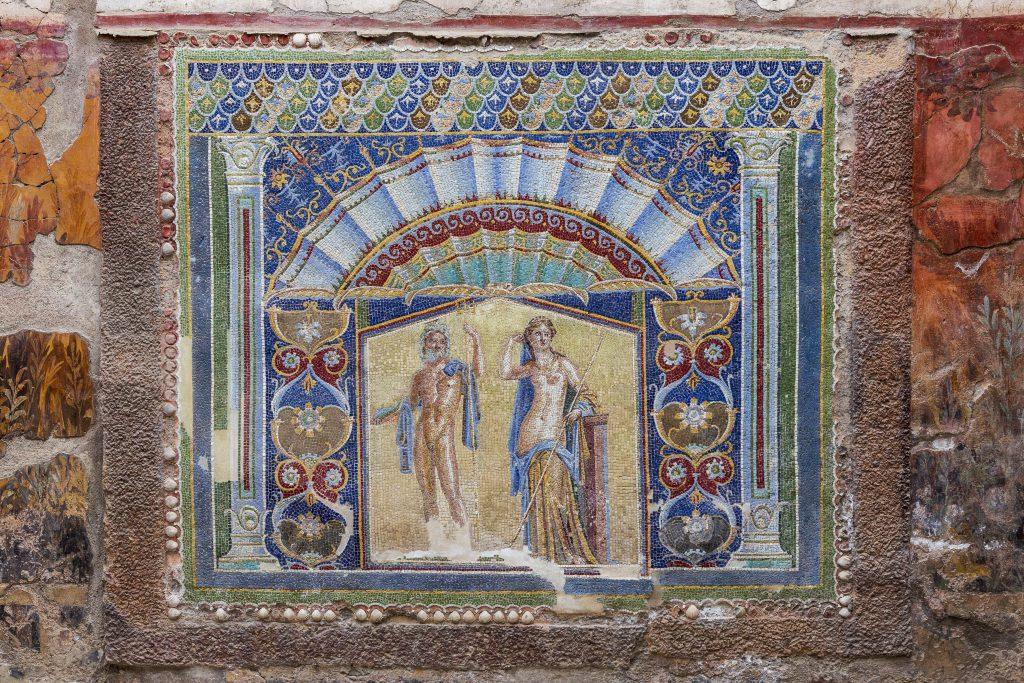 Herculaneum Antik Şehri Napoli İtalya
