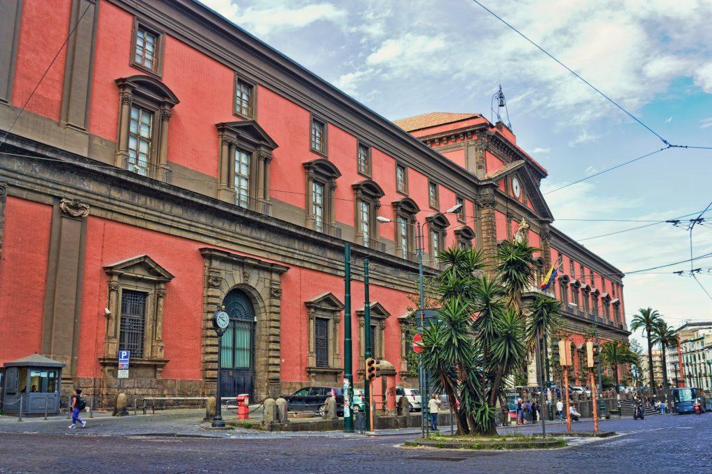 Napoli Arkeoloji Müzesi (Museo Archeologico Nazionale di Napoli) İtalya