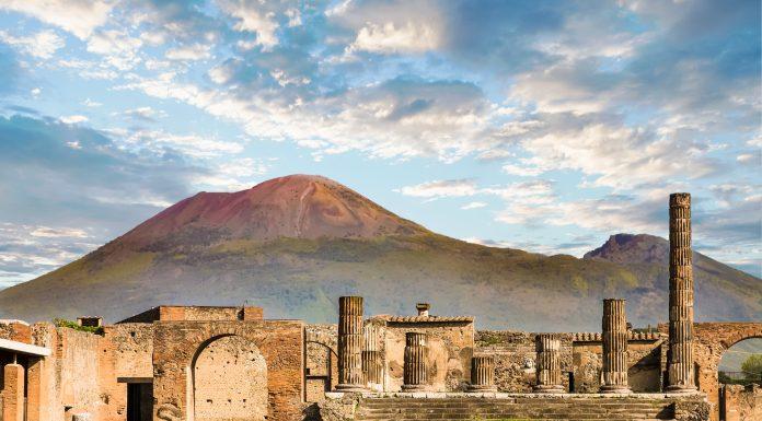 Pompeii Antik Kenti Napoli İtalya