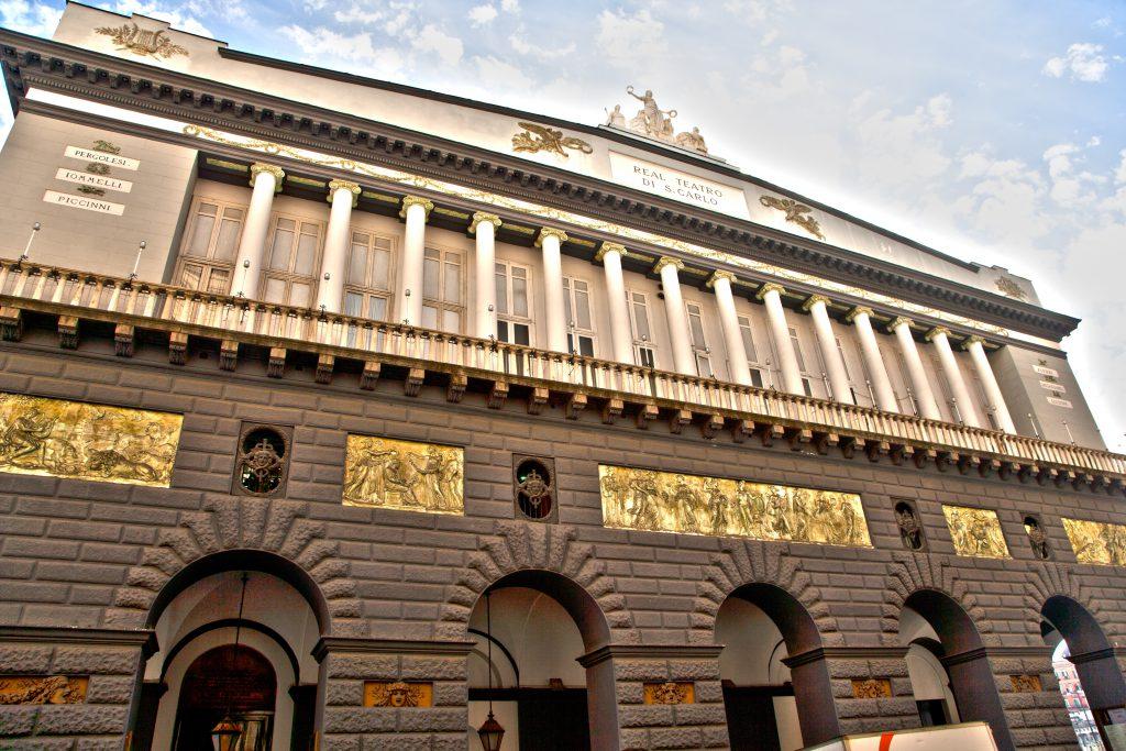 San Carlo Tiyatrosu (Teatro San Carlo) Napoli İtalya