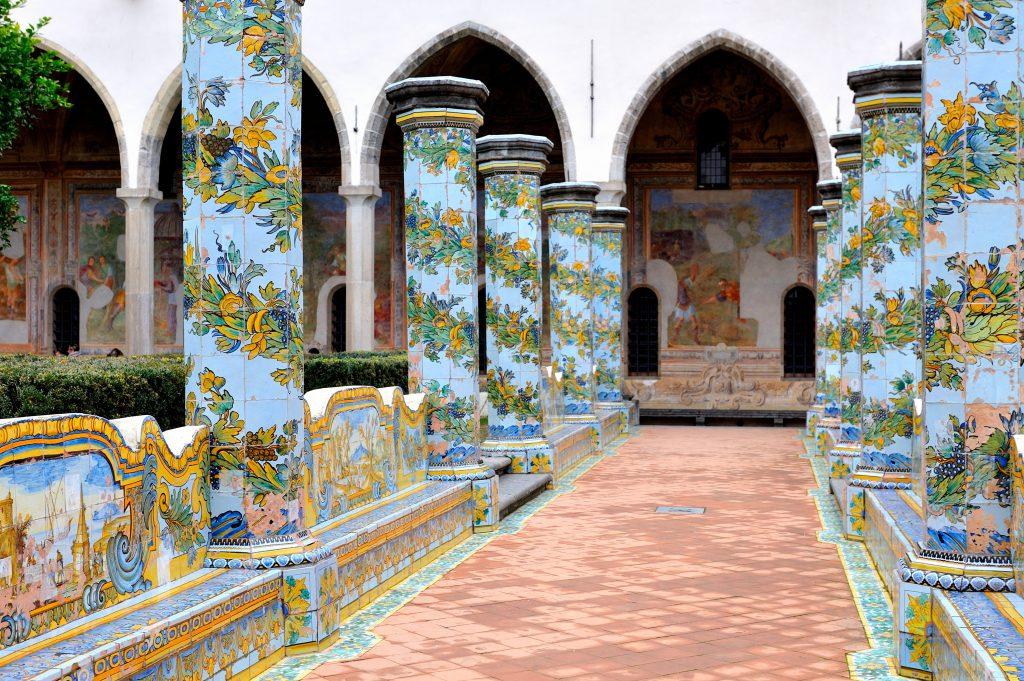 Santa Chiara Manastırı Napoli İtalya