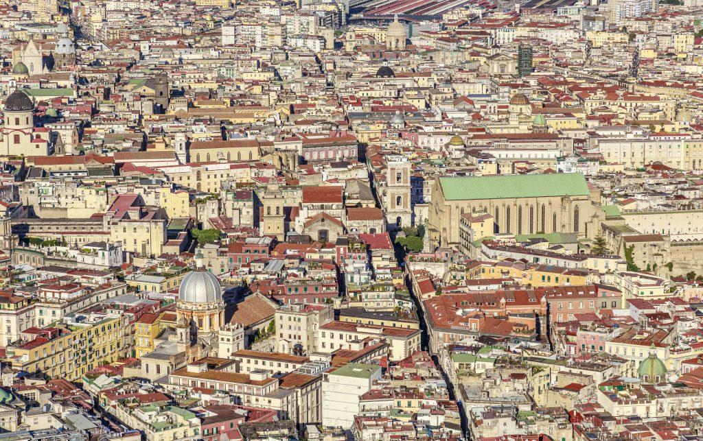 Spaccanapoli Napoli İtalya