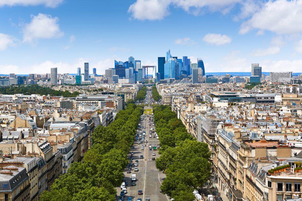 Champ-Élysées (Şanzelize Caddesi), Paris, Fransa