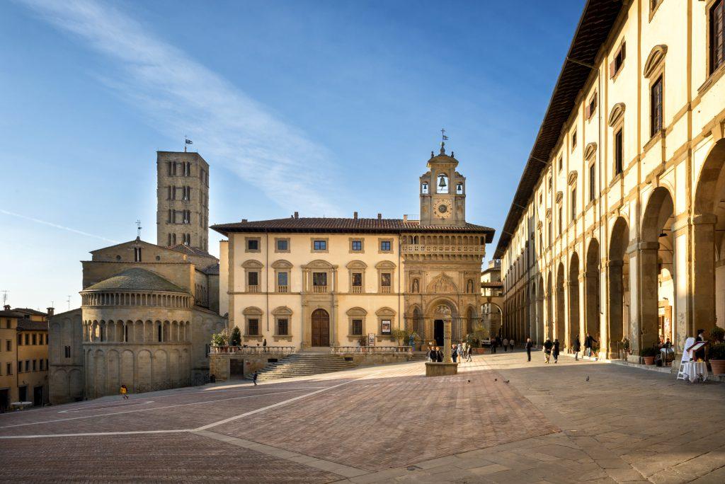 Arezzo Toskana