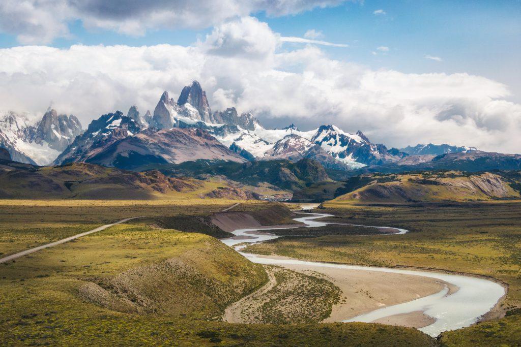 Cerro Fitz Roy Tepesi Patagonya Arjantin