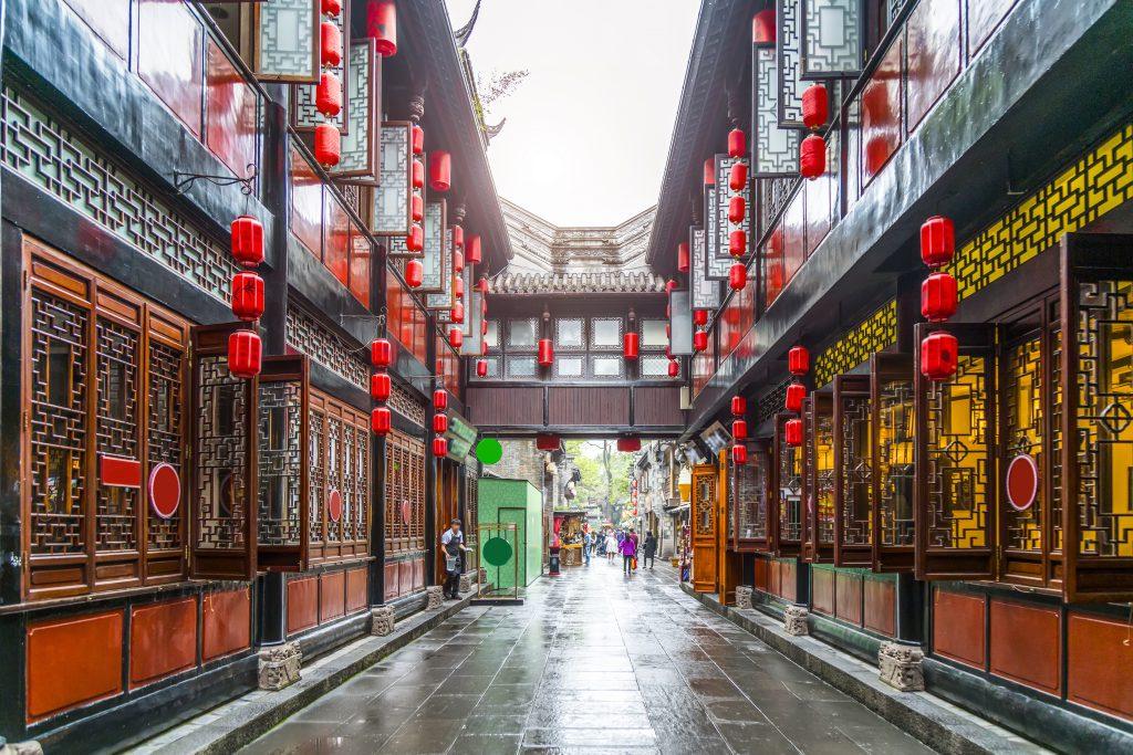 Jinli Caddesi, Chengdu, Çin