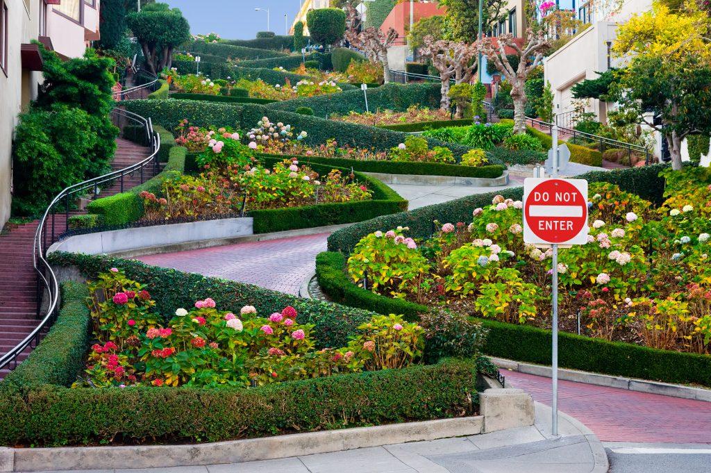 Lombard Caddesi, San Fransisco, ABD