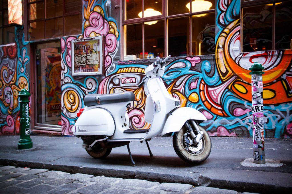 Hosier Caddesi, Melbourne Duvar Sanatı