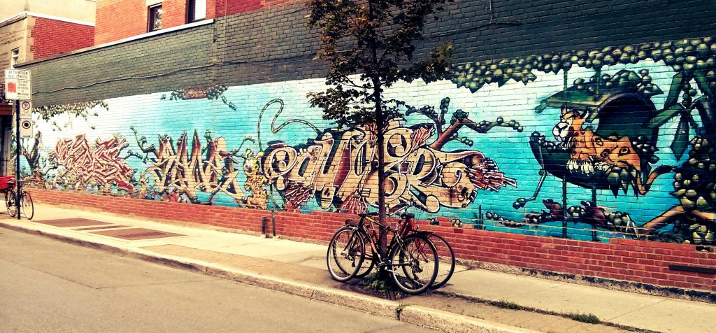 Montreal, Kanada Sokak Sanatı