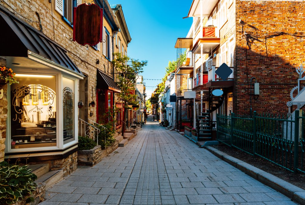 Petit-Champlain Caddesi, Quebec, Kanada