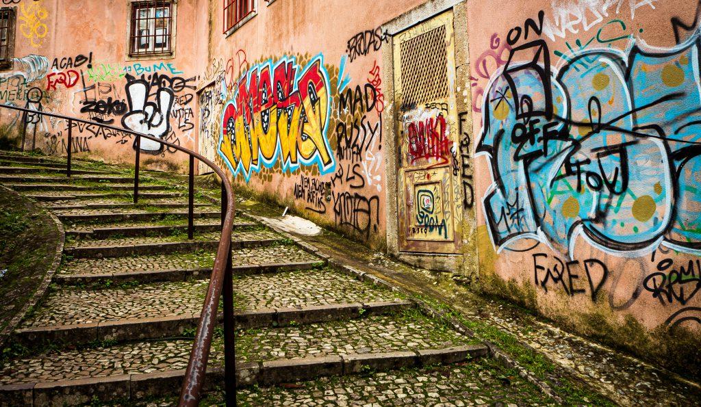 Lizbon, Portekiz Sokak Sanatı