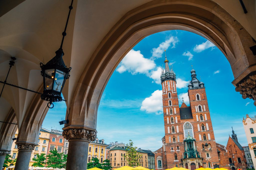 Saint Mary Kilisesi Krakow