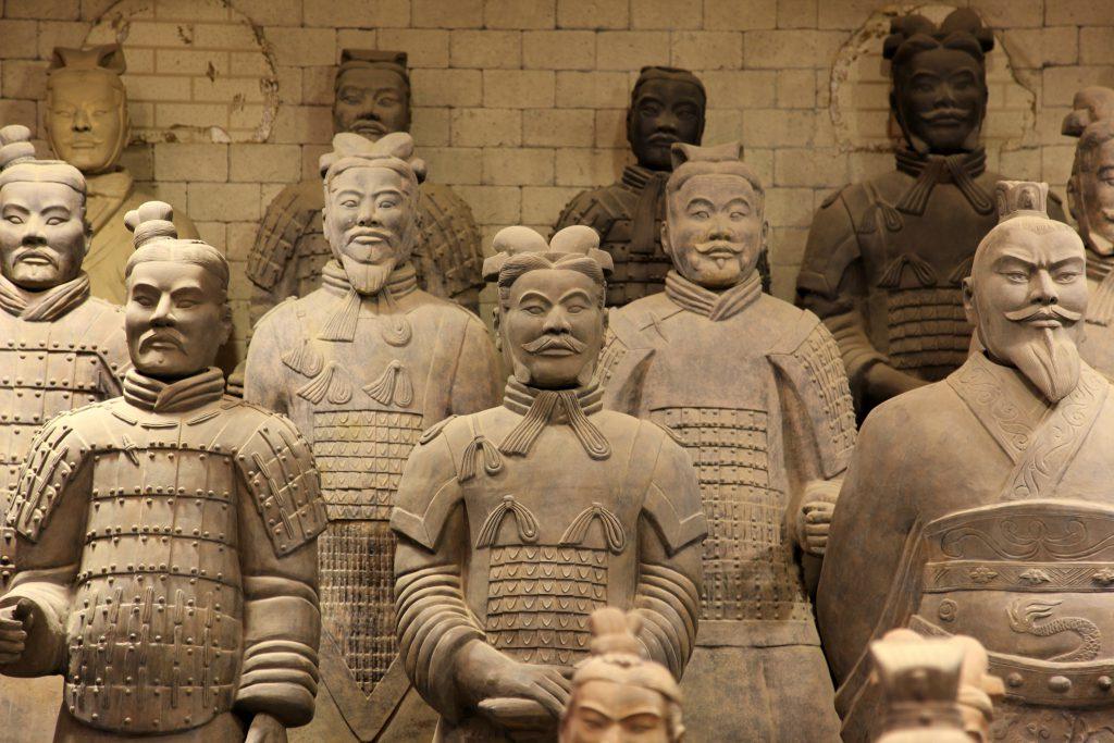 Terra Cotta Askerleri Xian Çin