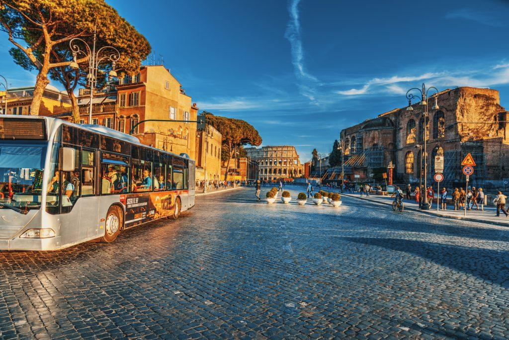 Via dei Fori Imperiali, Roma, İtalya