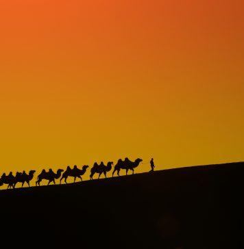 Xinjiang Çin- İpek Yolu
