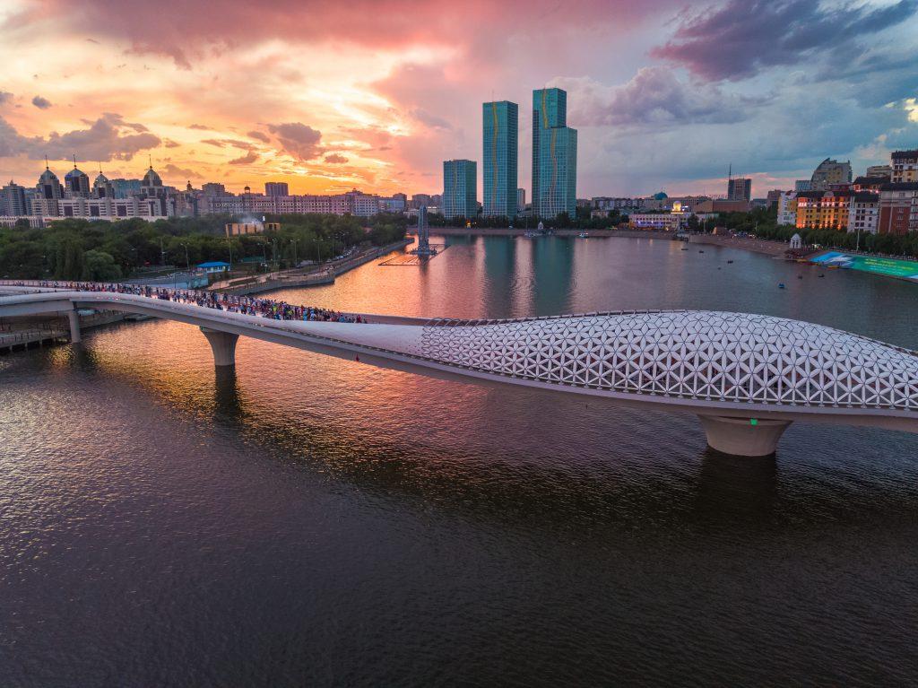 Atyrau Köprüsü - Balık Köprüsü