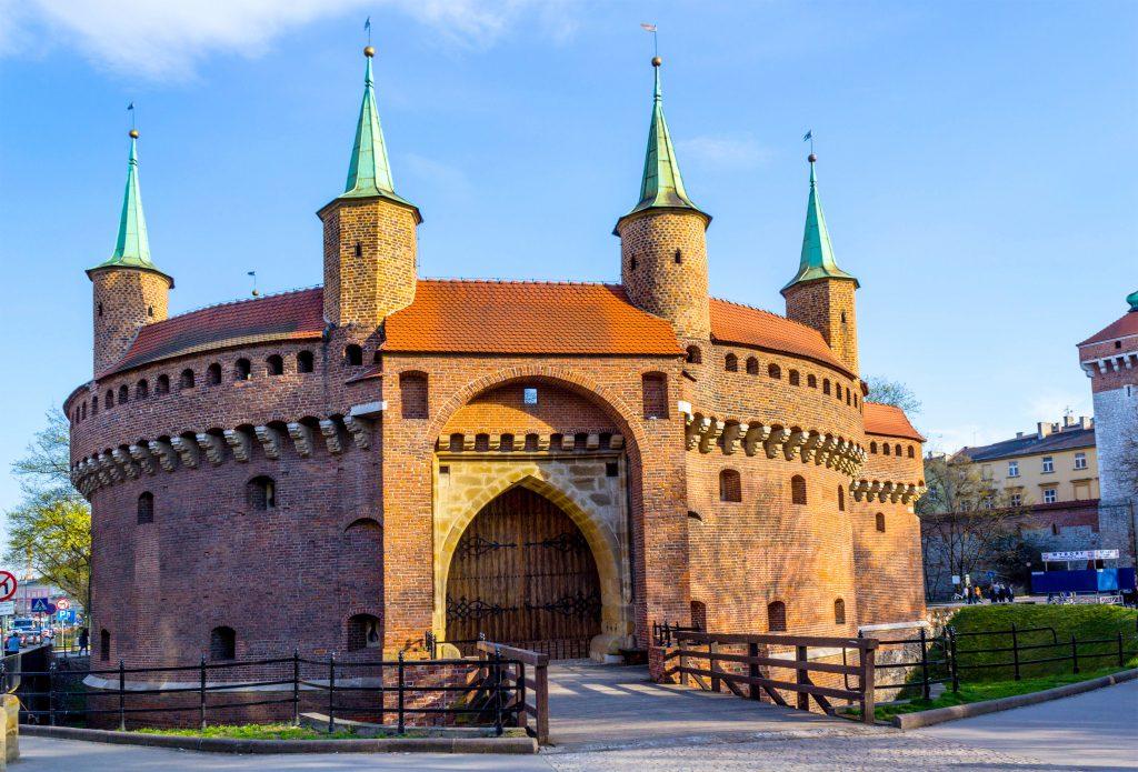 Barbakan Krakowski, Krakow