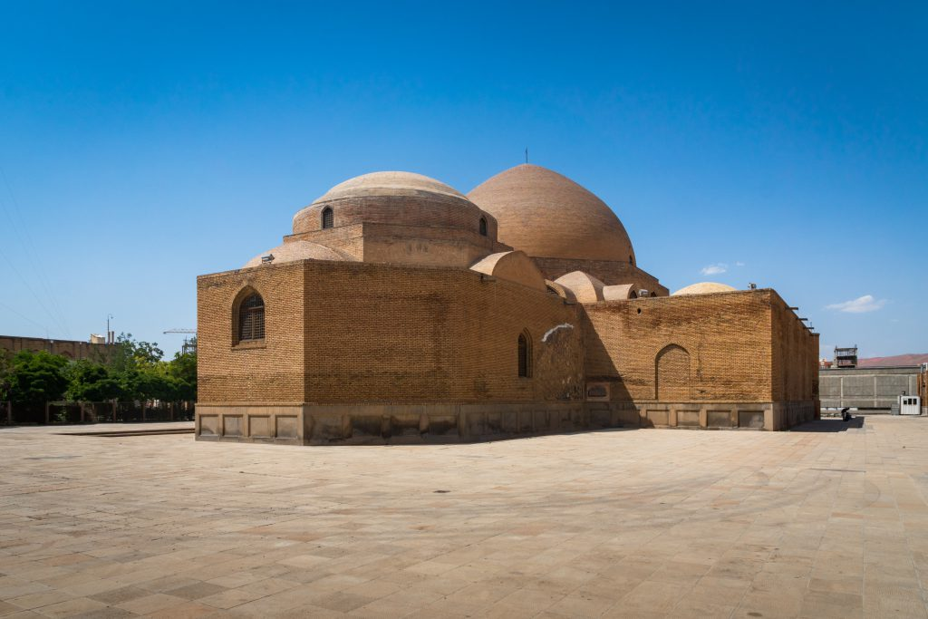 Gök Mescit (Göy Mescid), Tebriz, İran
