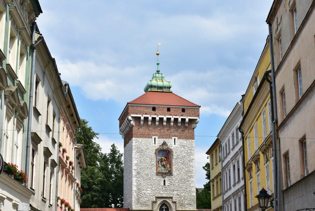 Brama Florianska, Krakow
