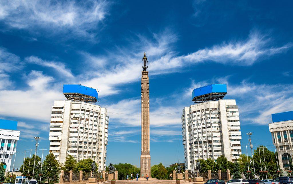 Cumhuriyet Meydanı, Almatı, Kazakistan