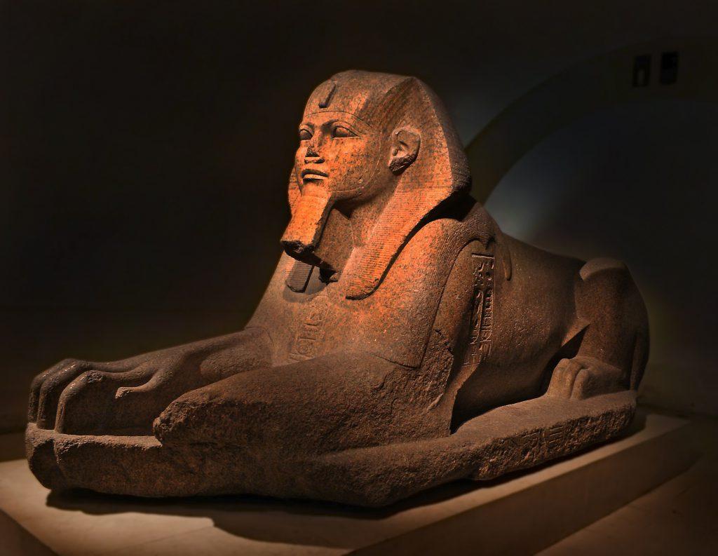 Büyük Sfenks, Louvre