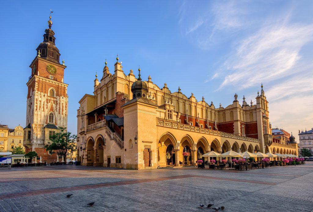 Kumaş Pazarı (Sukienicce), Krakow