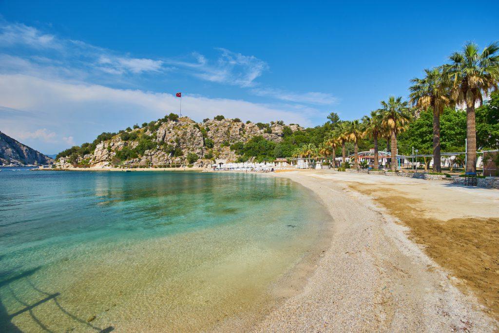 Kumlubük Plajı, Turunç, Marmaris