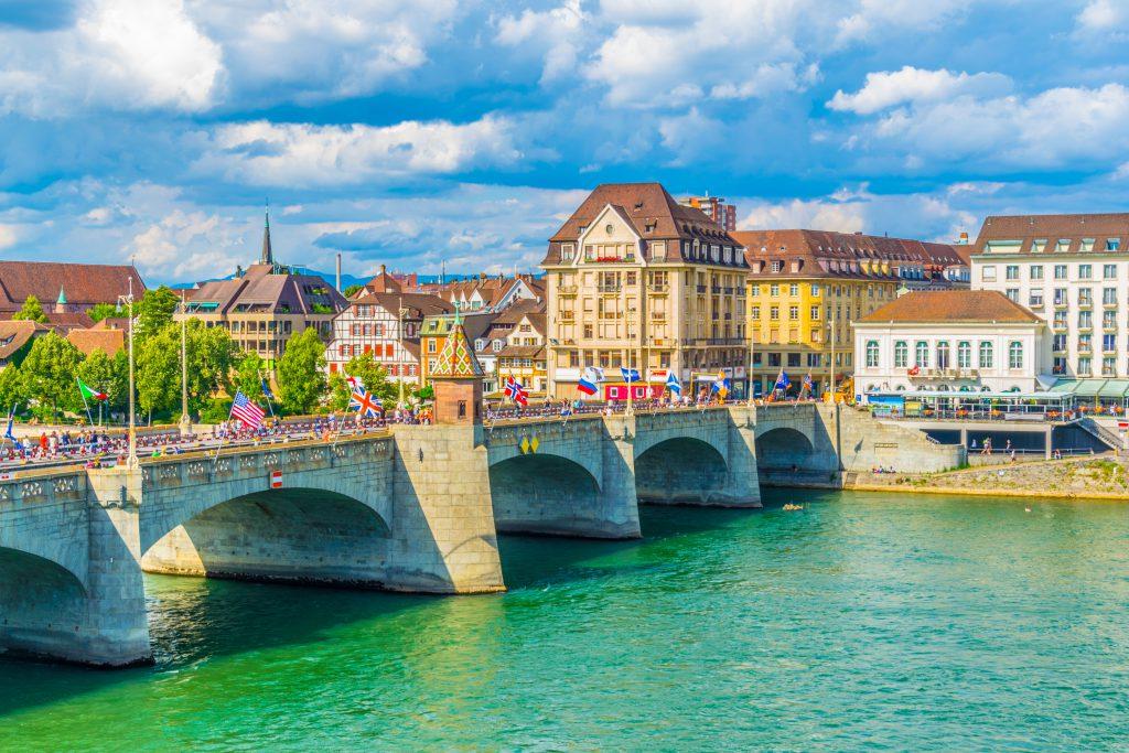 Mittlere Brücke, Basel, İsviçre