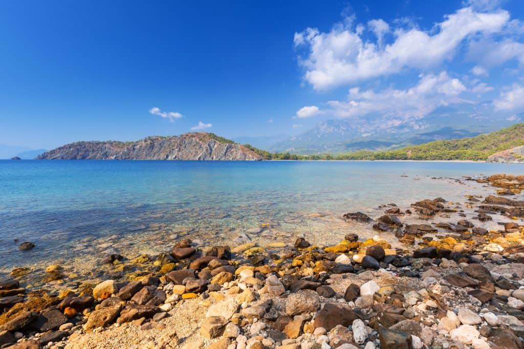 Phaselis Plajları, Kemer, Antalya