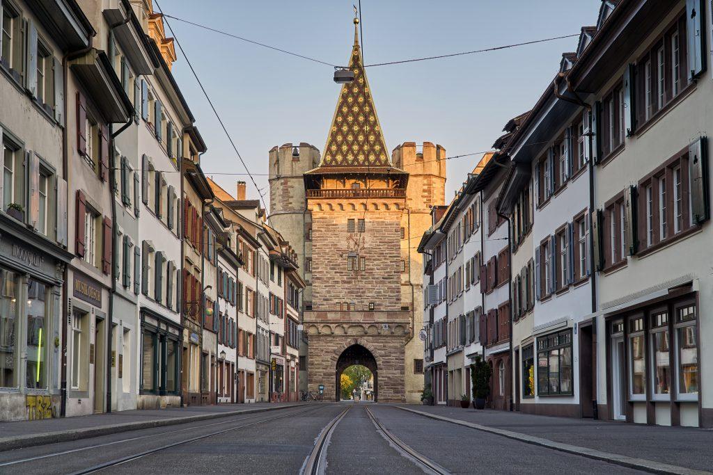 Spalentor - Spalen Kapısı, Basel, İsviçre