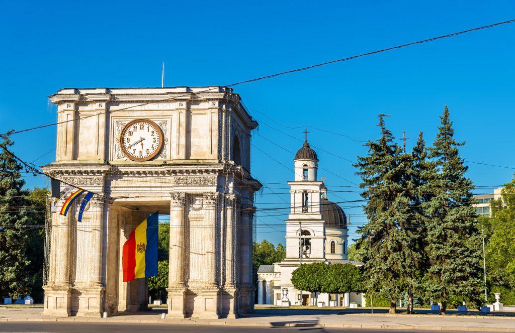Triumphal Arch, Kişinev, Moldova