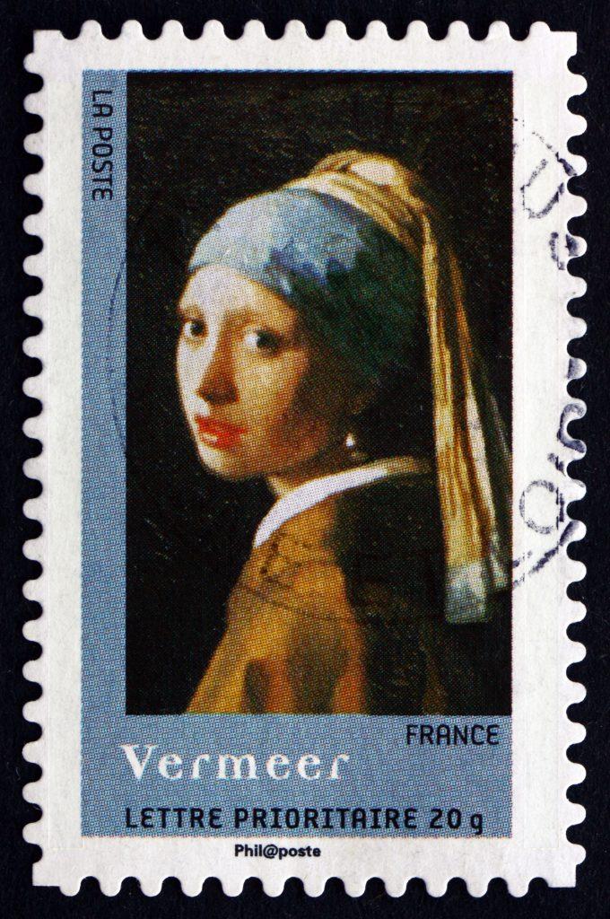 Vermeer İnci Kolyeli Kız